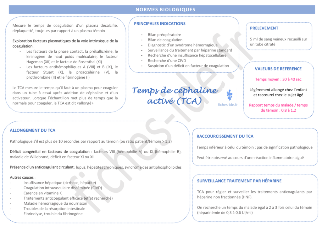 12. Schéma - TCA - Fiches IDE